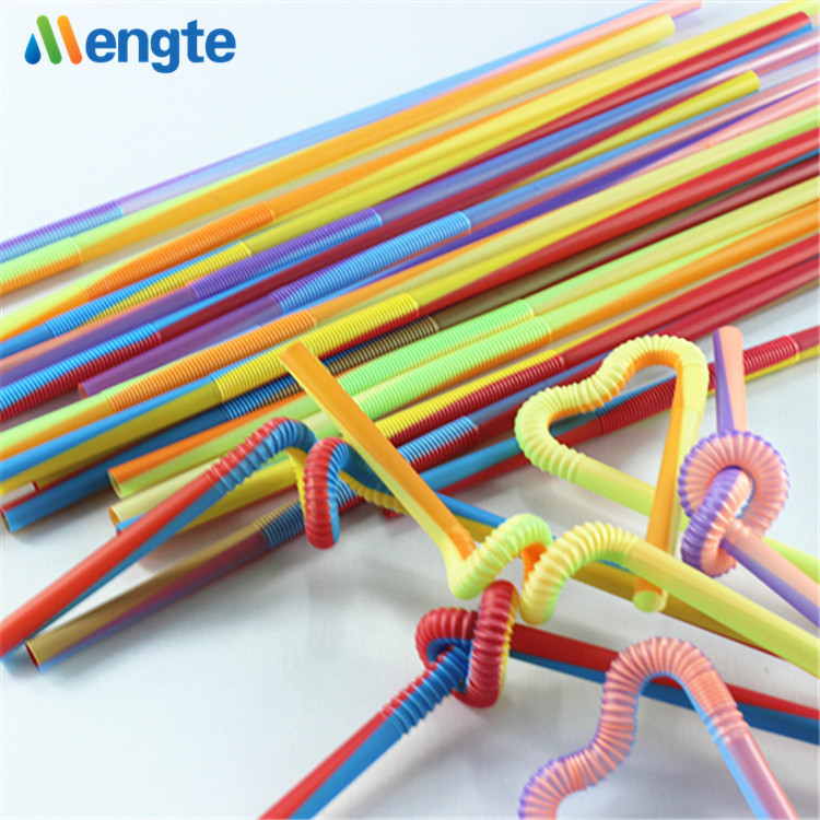 newest design colorful stripe beautiful artistic drinking straw