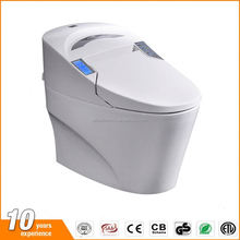 Auto washing and cleaning Intelligent electric smart toilet with CE