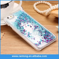 Factory direct sale trendy style 3d liquid phone case for iphone 6 China wholesale