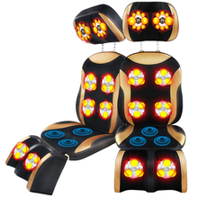 Four key heating kneading vibration buttocks massage cushion