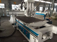 panel furniture production /open feeder /punching machine F2-9 with boring head