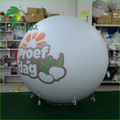 Certificated Large Advertising Diplay PVC Sky Ball / Inflatable Helium Round Balloon Wholesale For Event