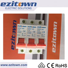 Ezitown brand Good quality 100% fast delivery elcb mini Circuit breaker With Overload Protection
