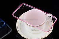 Popular 0.3mm Ultra thin crystal clear slim soft TPU case cover for iPhone 5