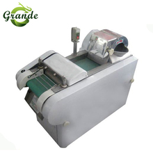 Potato Chips Electric Vegetable Cutter/Leaf Vegetable Spinach Cutting Machine