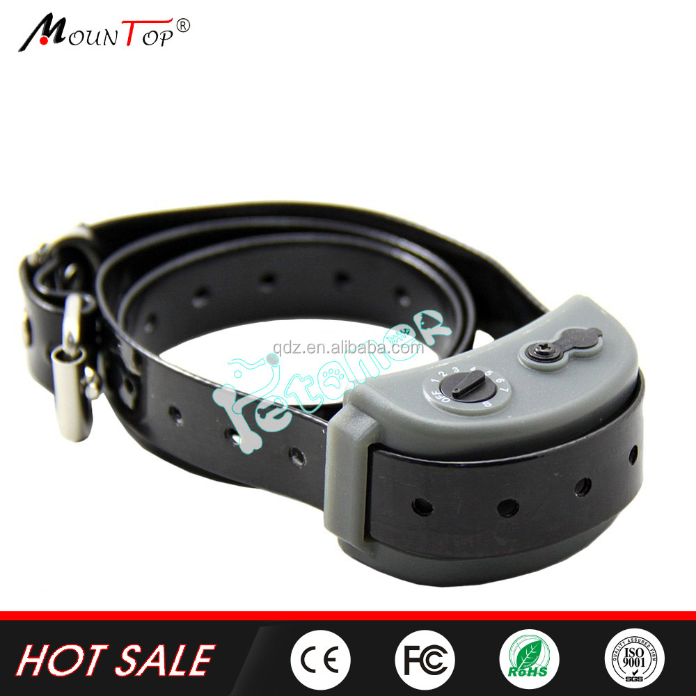Electronic Training Pet Dog Bark Shock Collar, Waterproof Rechargeable Dog No Bark Terminator, Anti Barking Dog Sensor Device