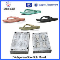 China Durable Women Flip Flops EVA Sole Injection Mould Manufacturers