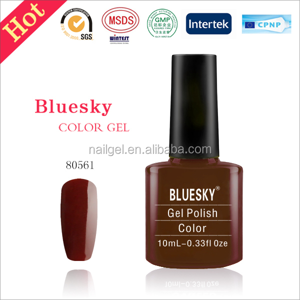 bluesky gel polish 80562 color gel uv,free sample uv gel polish