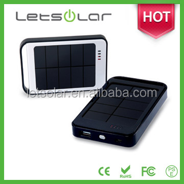 High efficiency water powered mobile charger 60000mah Li-ion battery portable solar charger