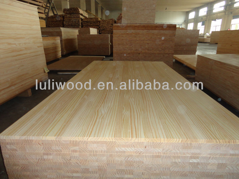 AA Grade Solid wood Finger Jointed Board for Furniture