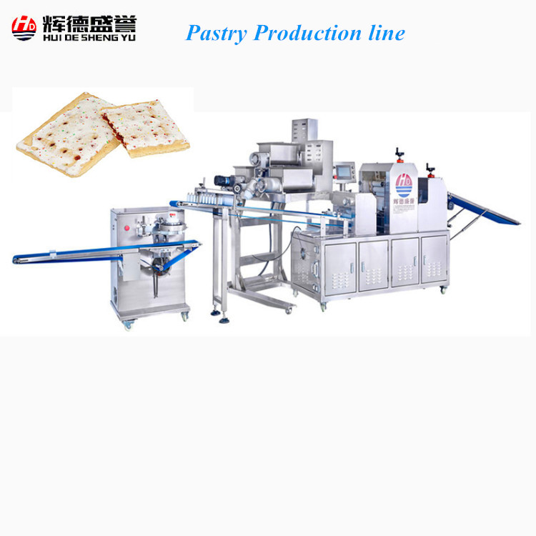 Strawberry Pop Tarts machinery/Strawberry Pop Tarts processing machine/Strawberry Pop Tarts Production <strong>Line</strong>
