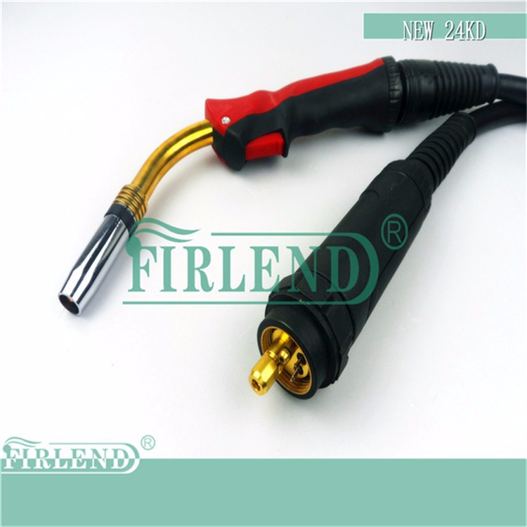 CO2 welding torch/new 24KD welding torch/ euro adapter