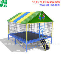 High quality 14ft roof trampoline for sale