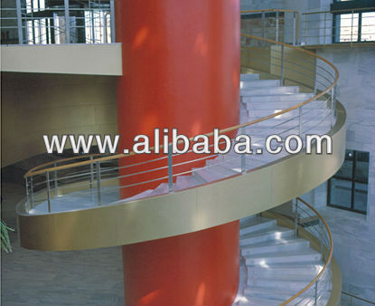 Round staire Stainless Steel Handrail