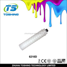 For Ricoh Type 6210D Toner cartridge for Ricoh aficio Aficio-1060/1070/1075/2051/2060/2075/MP5500/6500/7500 Copier