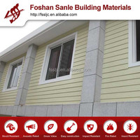 Colorized wood grain exterior siding board/wood grain fiber cement wall panel