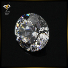 1.0-3.0mm aaa garde 100 facets white cz loose gemstones