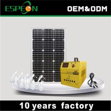 60w solar panel home power system kit