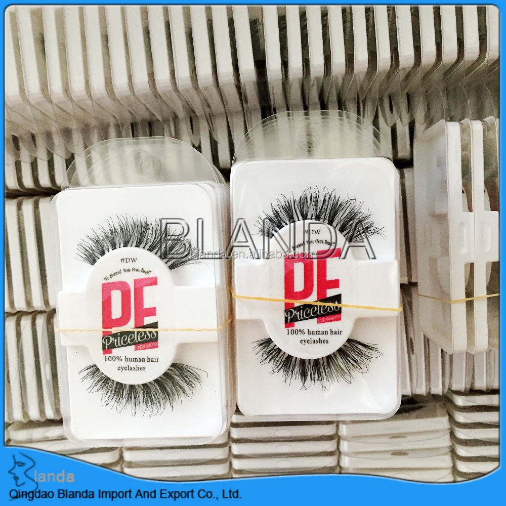 2018 private label human hair lashes custom eyelash box magnetic lashes