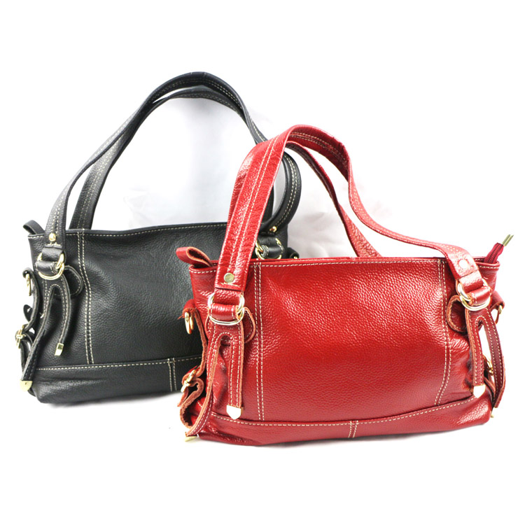 New Products custom make Genuine Leather Women Bags Handbag