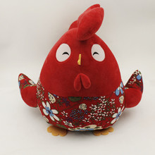 Wholesale custom red bird mascot plush stuffed animals toys