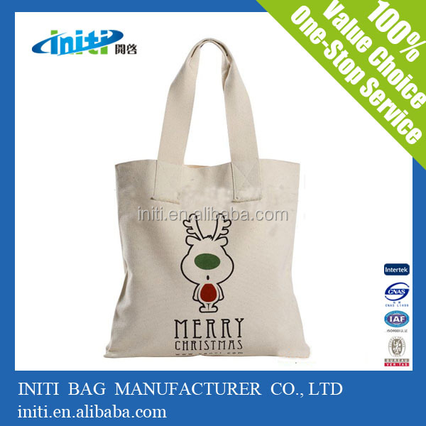 Initi 2017 certificate folding shopping bag large cotton shopper bag