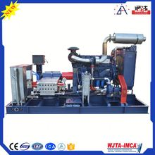 200TJ Driving Diesel Water High Pressure Jet Unhardened Bitumen Removal