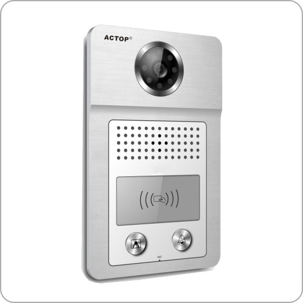 Home security building Management System Multi Apartment Video Door Bell For Apartment