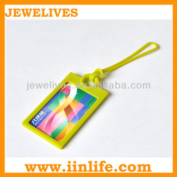 Wholesale silicone luggage tags wedding favor