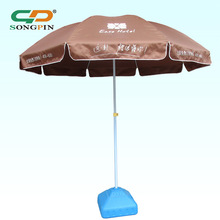 Polyester sun umbrella with various printing design for product promoteion
