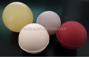 Diameter 50mm Solid Color Rubber Various colors Bouncy Ball