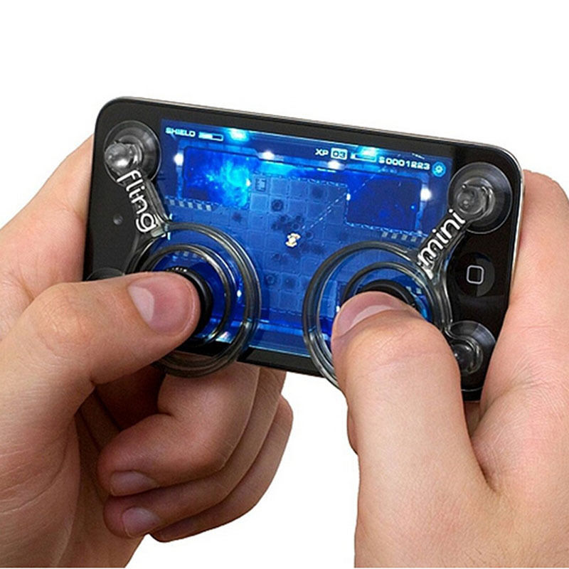 Newest Hot Products Mobile Phone Joystick Fling Mini Game Playing Mobile Joystick