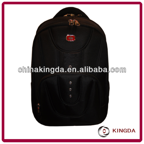 Nylon waterproof backpack laptop case