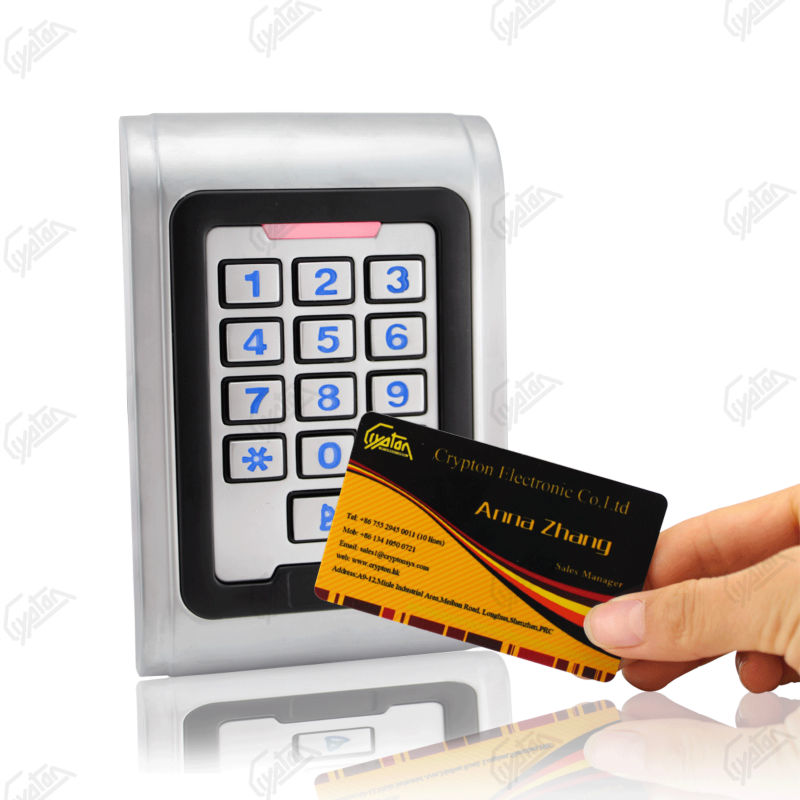 RS232 RS485 access control keypad from China manufacturer