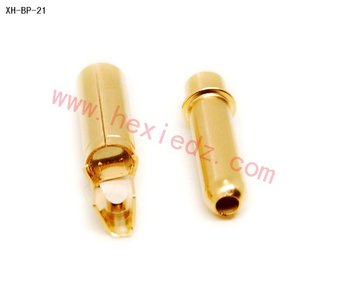 4.0mm gold bullet connector/banana plug for RC