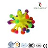 Promotional!!!spiky worm puffer ball, LED puffer ball toy