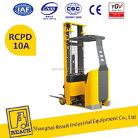 High quality good brand narrow aisle forklift truck 1.0ton