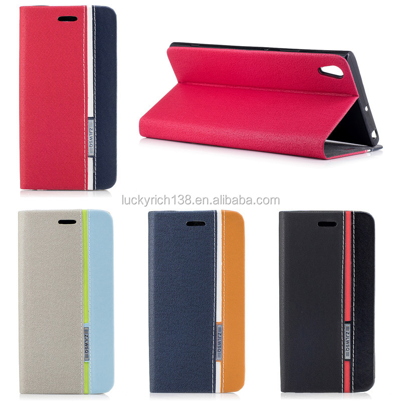 Fantastic high quality PU colorful cell phone case for Sony XA1 ULTRA made in China