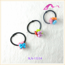 Fashion Hair Accessories Kids Plastic Elastic Hair Band With Bow