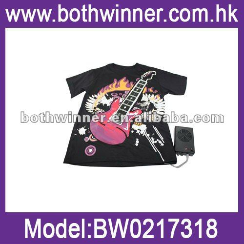 Electronic Rock Guitar LED T-Shirt