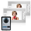 "7"" TFT-LCD screen high technical eletronic video door phone intercom system video door bell smart door bell"