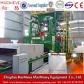 Steel Plate and Profile Shot blasting and painting machine / Steel Surface Rust Remover And Painting Line
