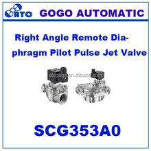 asco type Right Angle Remote Diaphragm Pilot Pulse Jet Valve