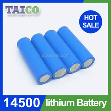 3.7V 700mAh 14500 Li Ion Rechargeable Battery Used In Electric Torch