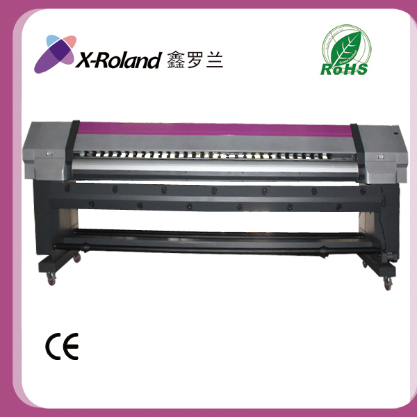 X-Roland 3.2m canvas digital solvent printing machine for sale