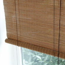 decorative Bamboo roller black out window blinds