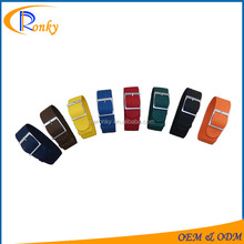 20mm Pure Color Nylon Perlon Watch Strap