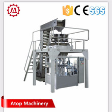 Atop Fungus plastic bag packing machine / mushroom growing bag filling and packing machine