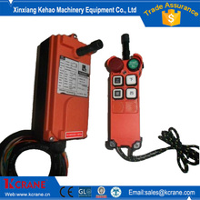 Wireless remote controls for electric hoist with receiver and transmitter