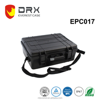 Ningbo everest EPC017 IP67 trolley plastic travelling flight case with foam